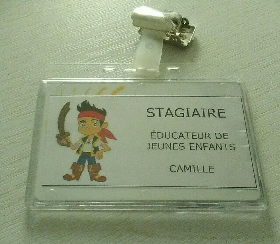 badge de camille