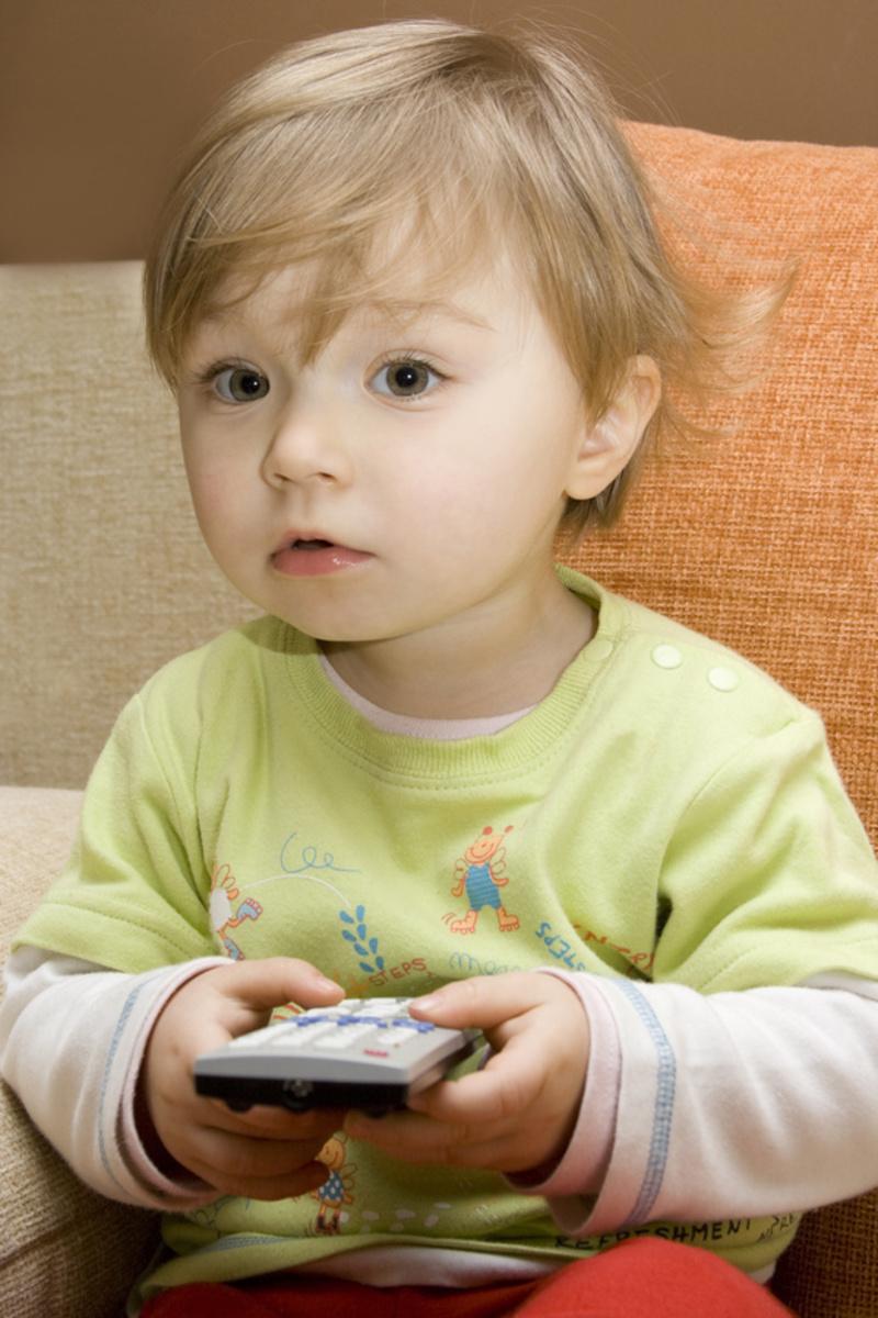 enfant télécommande