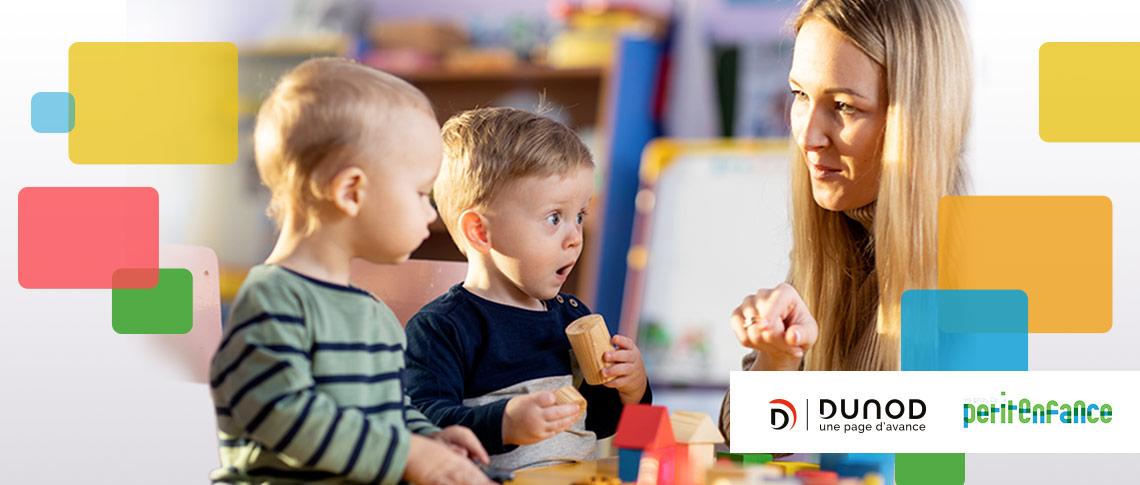 Formations Dunod et Les pros de la petite enfance