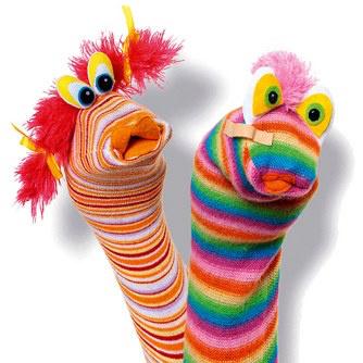 chaussettes marionnettes