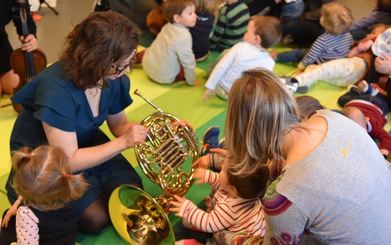 musiciennes et petits