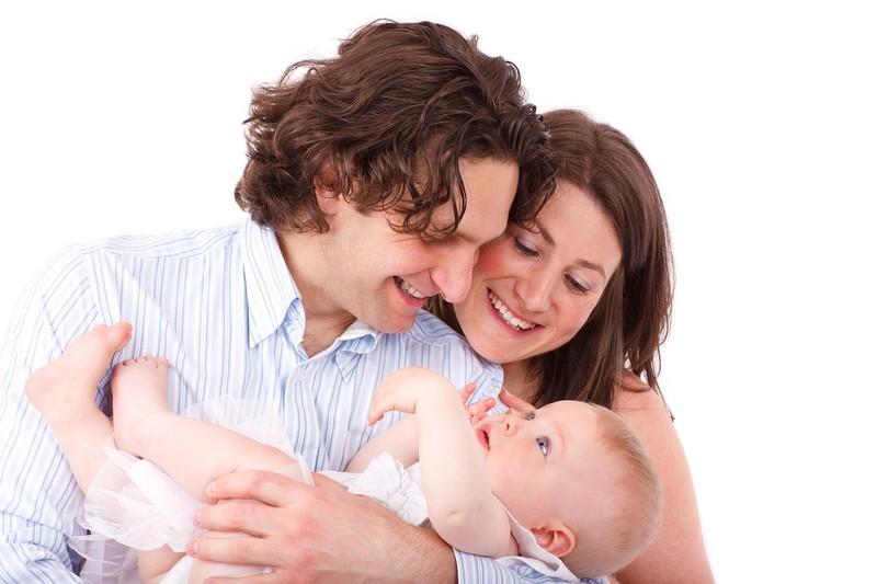 parents et bébé