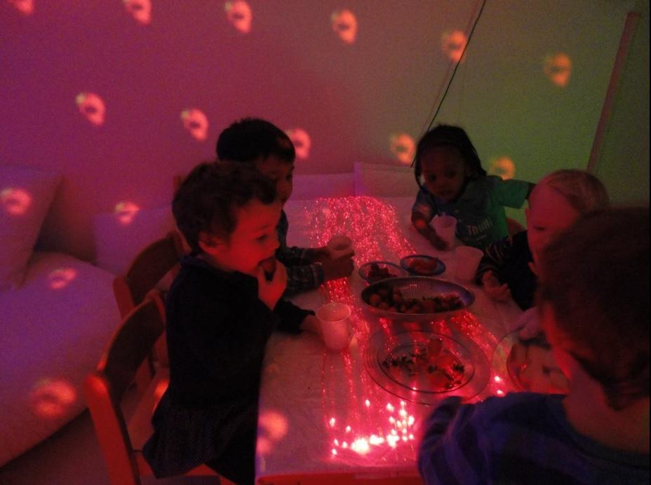 salle multi-sensorielle enfants