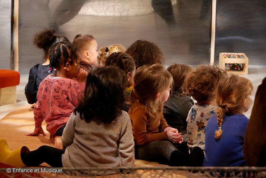 Enfants spectateurs