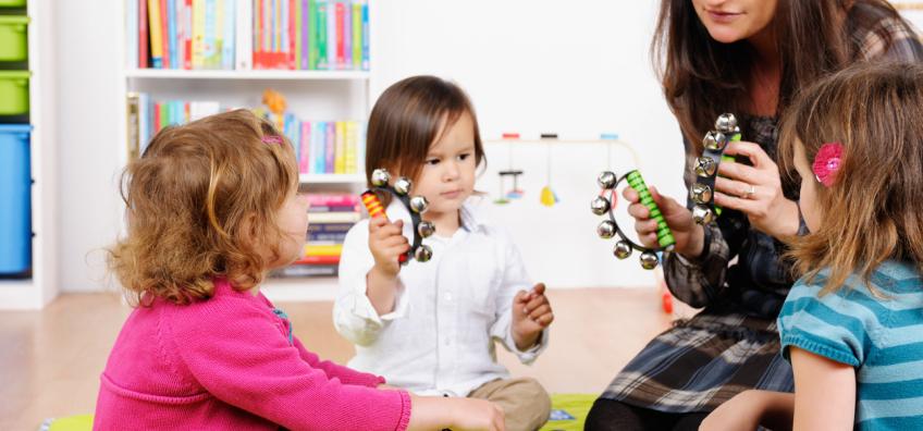 professionnelle et jeunes enfants