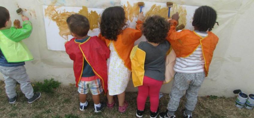Un atelier Reggio avec des enfants
