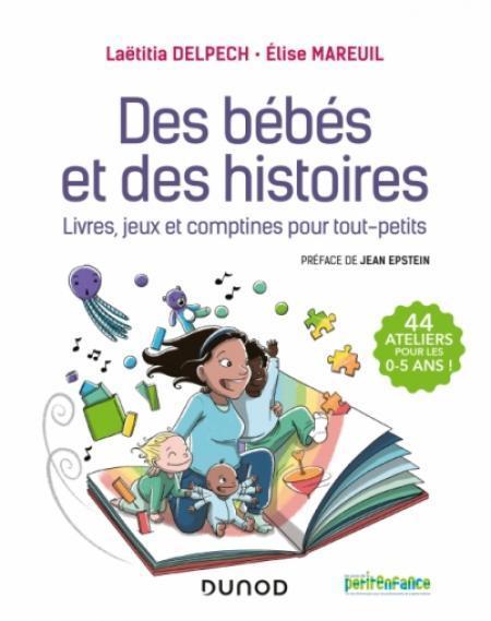 couverture du livre Des bébés et des histoires
