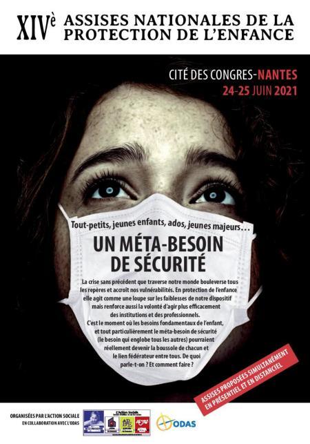 Affiche les Assises nationales de la protection de l