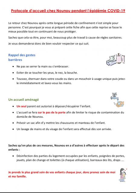 protocole Nounou Estelle