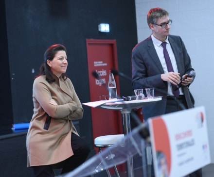 Agnès Buzyn et Olivier Noblecourt