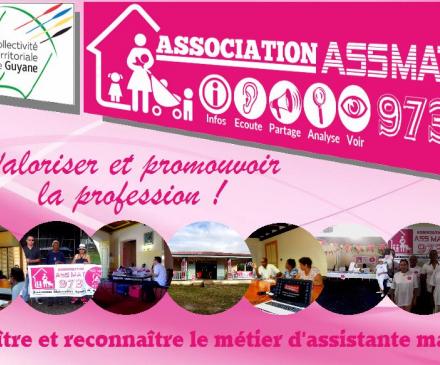 Assmat973 s'implique pour valoriser et promouvoir la profession en Guyane