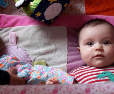 bébé dans une micro-crèche