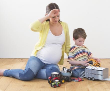 Assistante maternelle enceinte