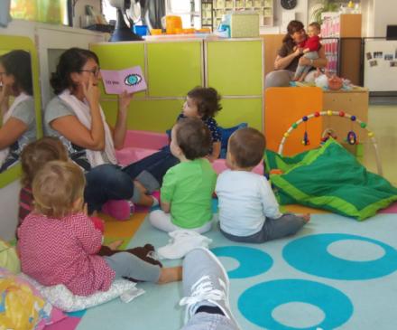 lecture avec les enfants