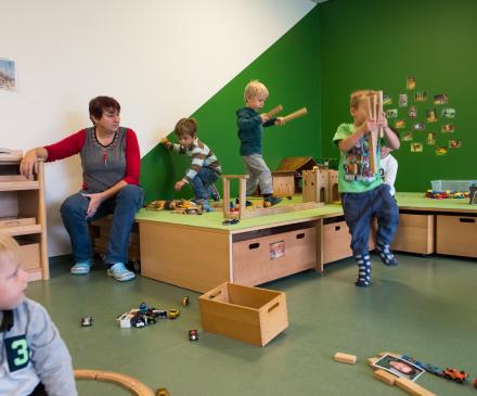 jardin d'enfant à Strasbourg