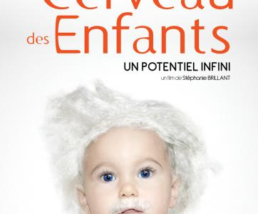 -Affiche film Le cerveau des Enfants
