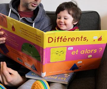 lecture album sur le handicap