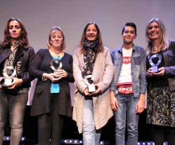 les lauréates des Trophées des Nounous