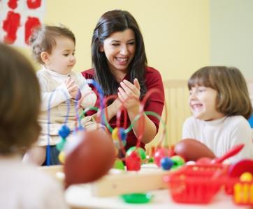 Enfants accueil collectif