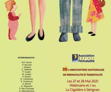 30ème rencontres nationales de périnatalité et parentalité