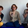 Les 3 assistantes maternelles de la MAM les petites souris